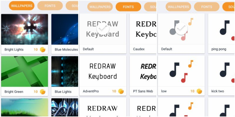 redraw-keyboard-wallpapers-fonts-sounds