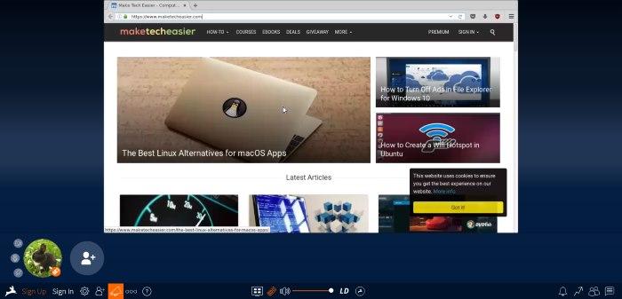 rabbit-website-browser