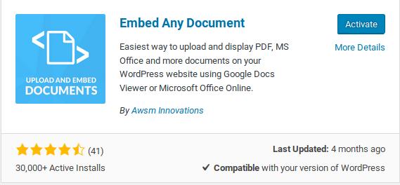 embed-doc-wordpress-installation