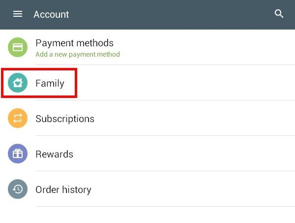 google-family-account-option