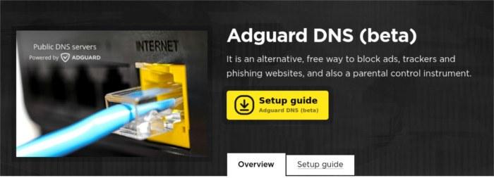 alternative-dns-adguard