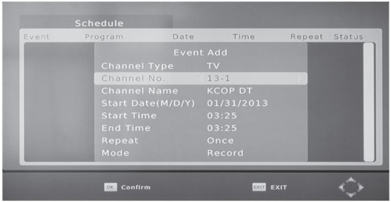 The Mediasonic HomeWorx HW-150 PVR will record your OTA shows like a VCR.