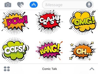 imessage-apps-stickers-comic-talk
