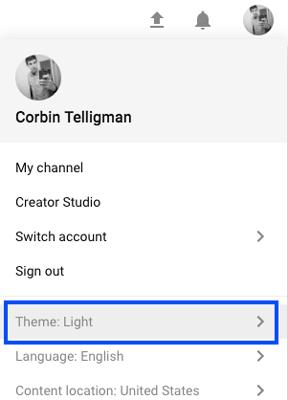 youtube-dark-mode-theme-selection