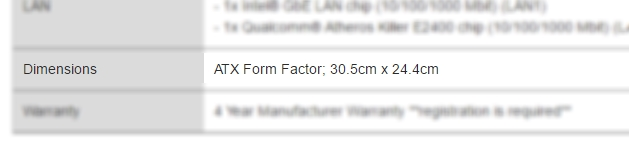 form-factor-specification