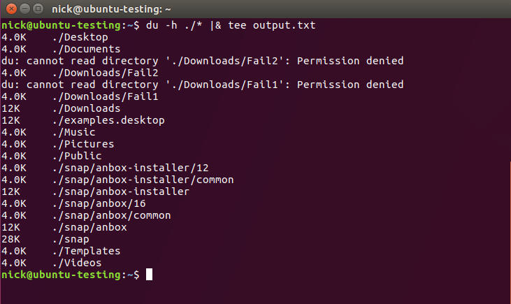 Show Everything and Save Everything Linux