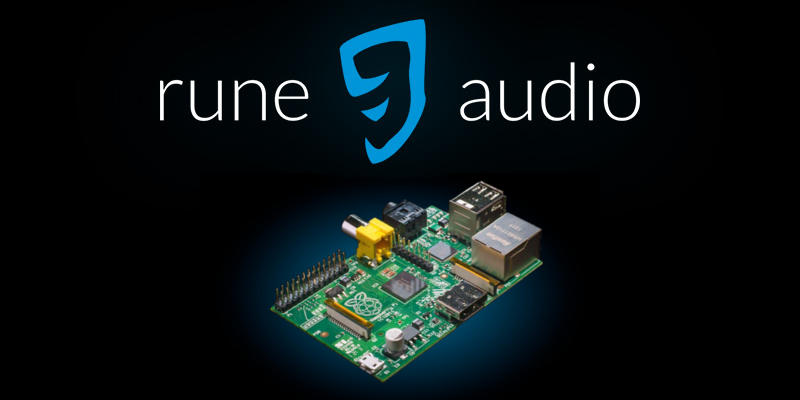 Install RuneAudio on Raspberry Pi