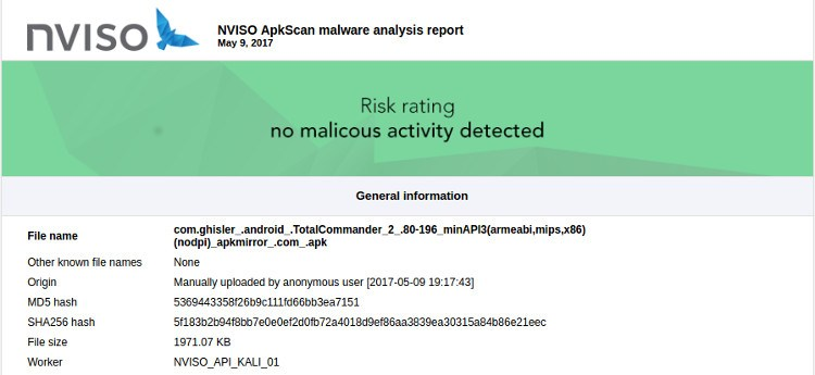 scan-apk-android-nvisio