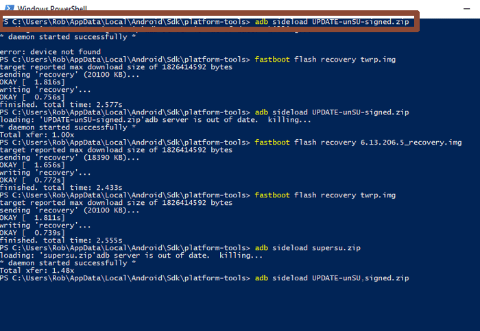 unroot-android-phone-tablet-powershell-unsu-sideload-x