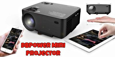 DBPower T20 1500 Lumens LCD Mini Projector Review
