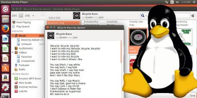 Song Lyrics on Linux