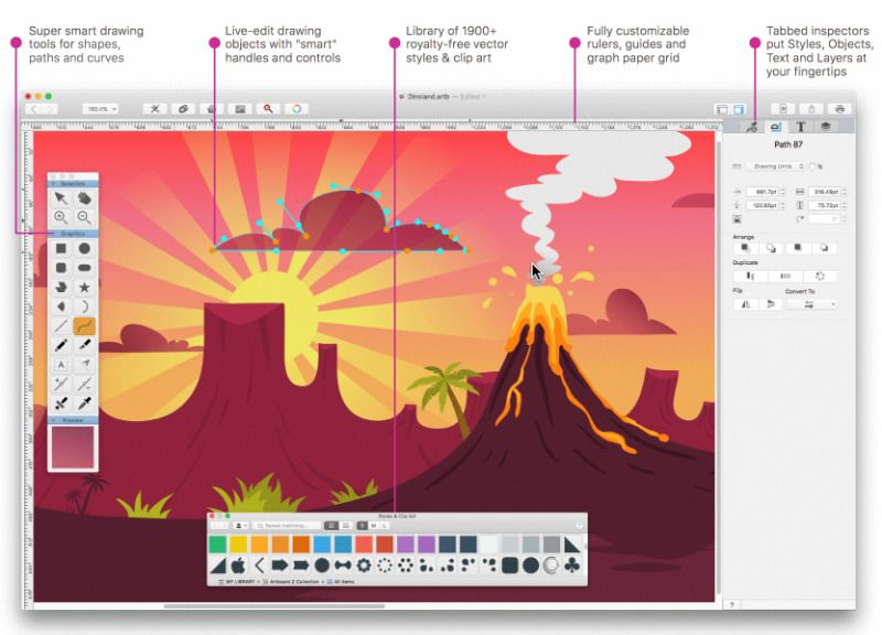 drawing-apps-for-mac-artboard