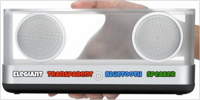 Elegiant Transparent Bluetooth Speaker with Super Bass Review