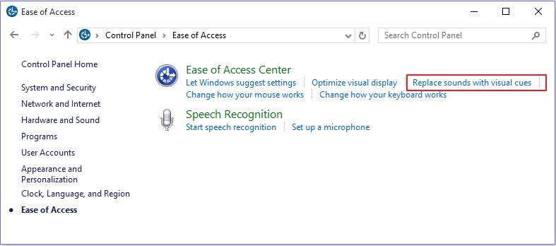 ease-of-access-center-menu