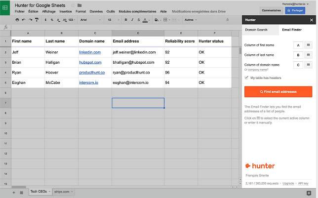google-sheets-add-ons-email-hunter