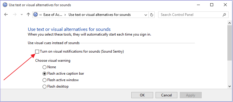 turn-off-visual-notifications-for-sound