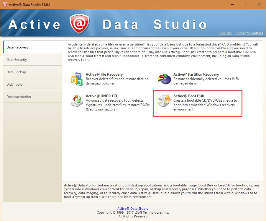 active-data-studio-select-boot-disk