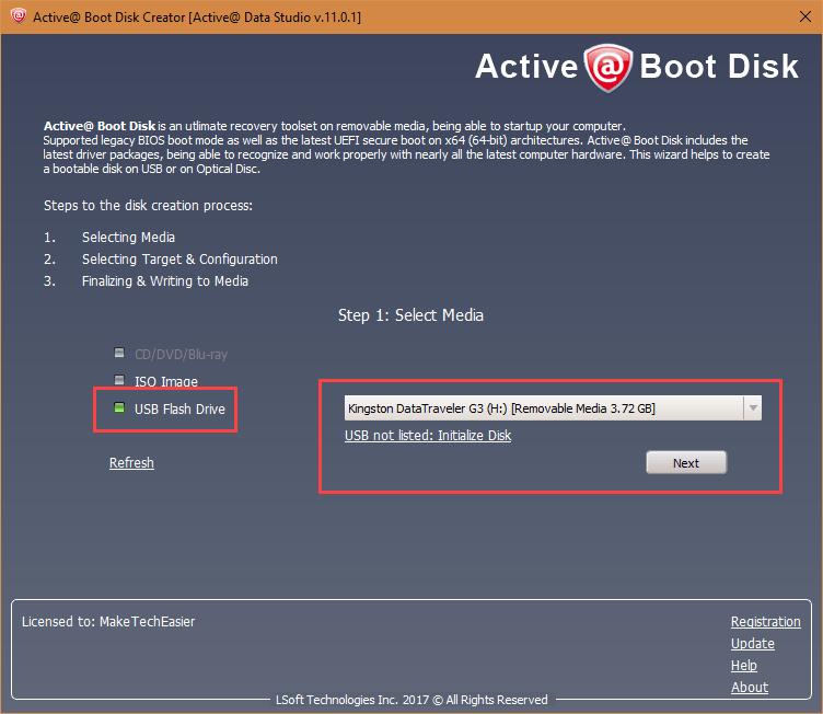 active-data-studio-select-usb-drive