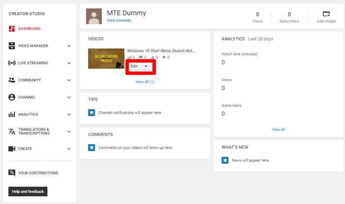 how-to-make-a-youtube-channel-creator-studio-dashboard