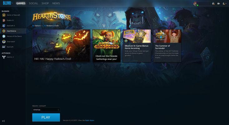 Hearthstone Installed Battle.net