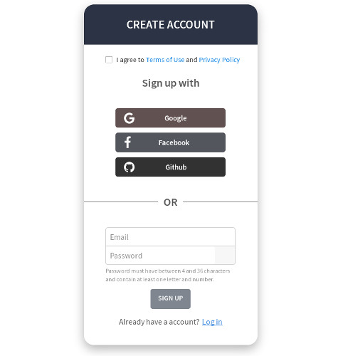 Create Mycroft Account