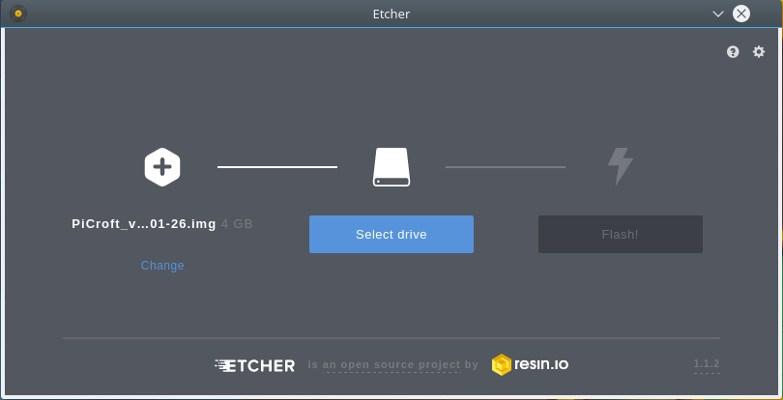 Create an SD card for Mycroft