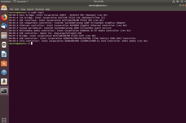 ubuntu-lsusb