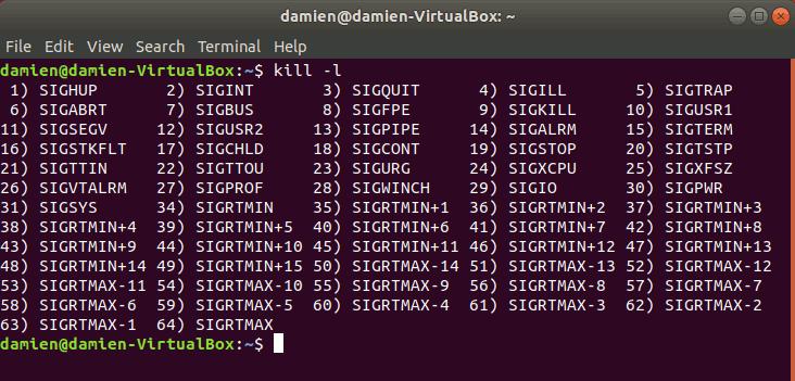 linux-kill-list-command