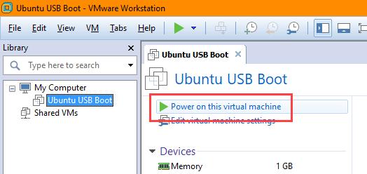 usb-boot-vmware-power-on-virtual-machine