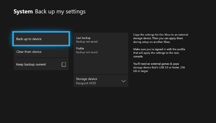 xbox-backup-settings-option