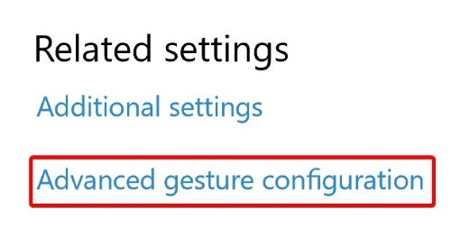 touchpad-gestures-related