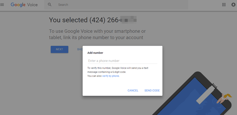 google-voice-number-gv-5a