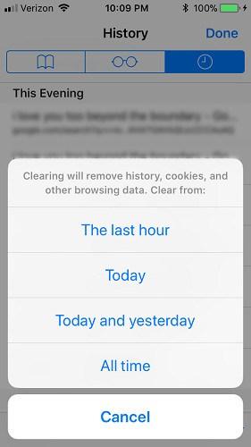 iphone-safari-clear-browsing-history