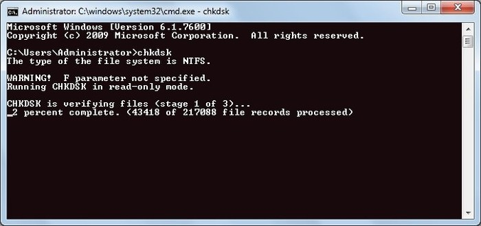repair-corrupted-file-chkdsk-scan