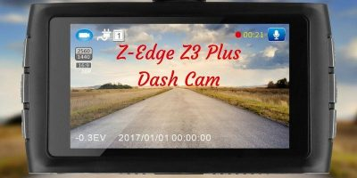 Z-Edge Z3 Plus Dash Cam - Review and Giveaway