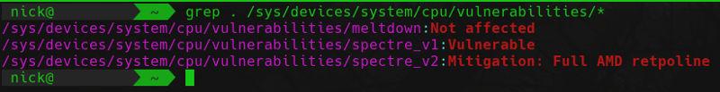 Kernel Vulnerability Check