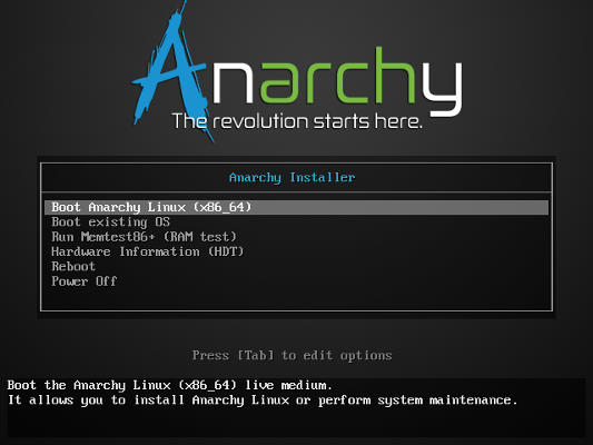 Anarchy Boot