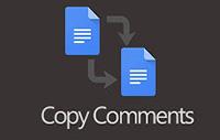 Copy Comments