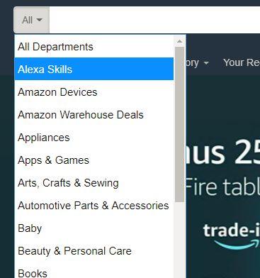 alexa-printer-amazon-search-bar