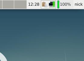 XFCE Battery Monitor