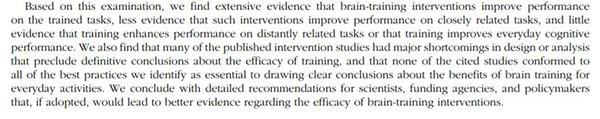 brain-training-evidence