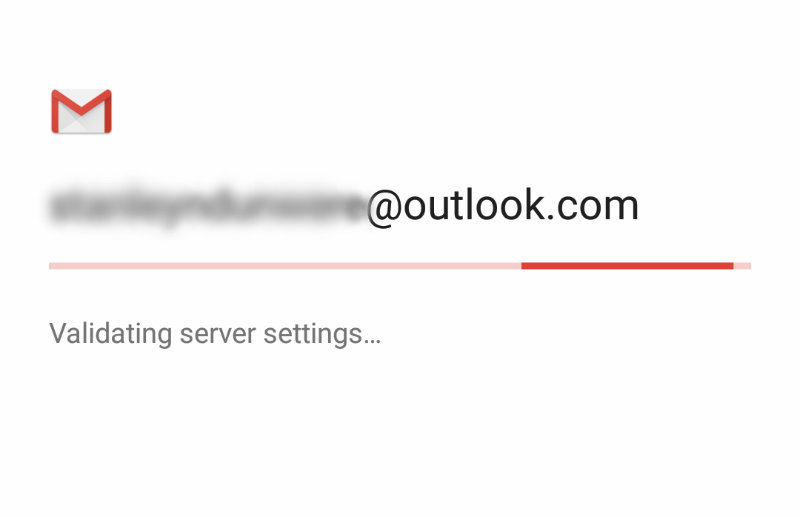 sync-microsoft-outlook-android-outlook-validating