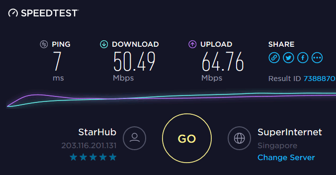 cyberghost-speed-test-before-connecting