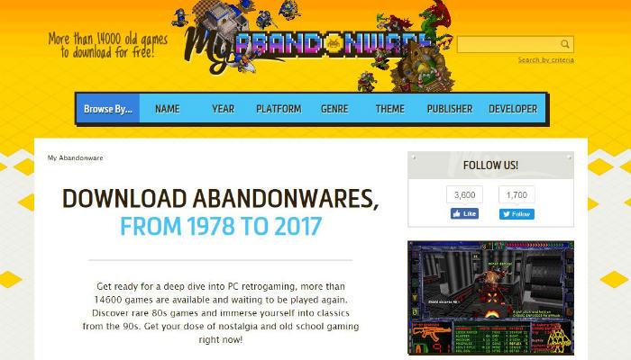free-games-abandonware
