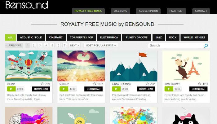 free-music-bensound