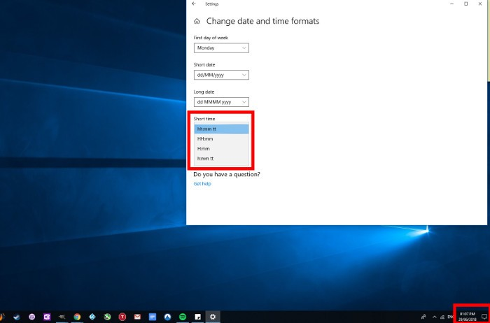 how-to-change-time-format-in-windows-10-short-time