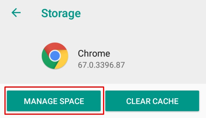 android-space-managespace