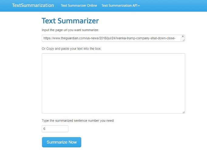 best-online-summarizer-tools-textsummarization