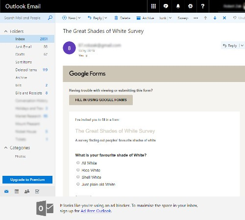 embed-google-form-poll-into-email-outlook