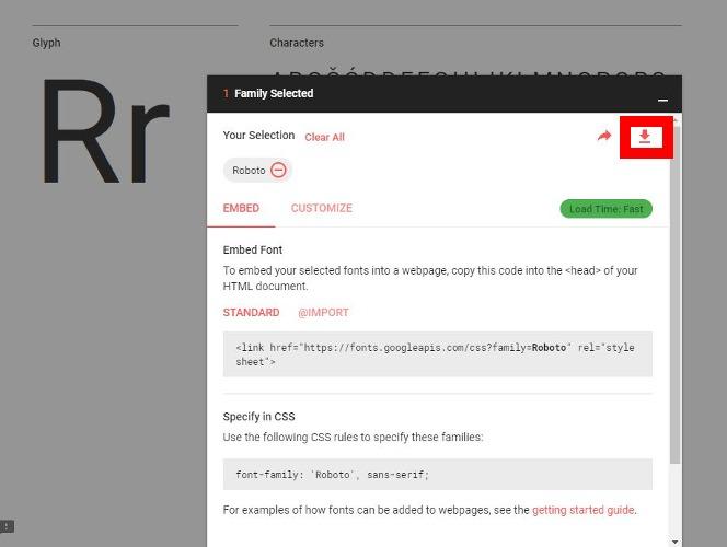 install-google-roboto-font-windows-mac-linux-selected
